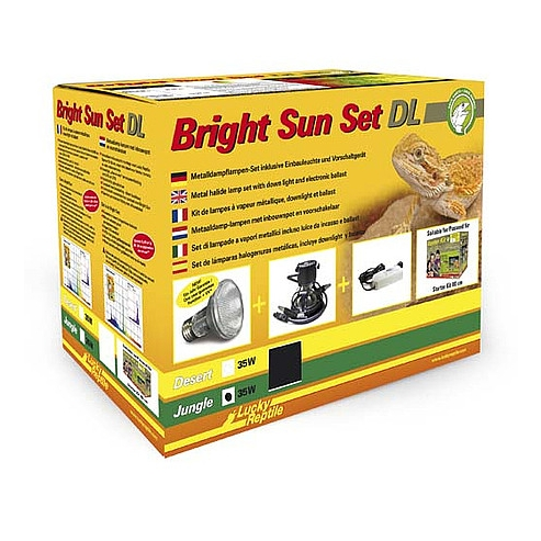 Lucky Reptile Bright Sun Set DL Jungle 35W