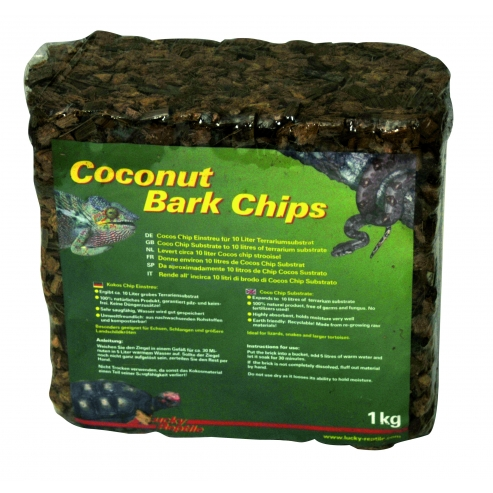 Lucky Reptile Coconut Bark Chips