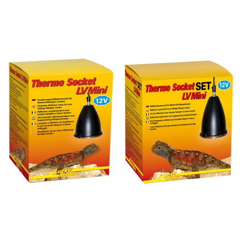 Lucky Reptile Thermo Socket LV plus Reflector