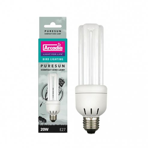 Arcadia PureSun Bird Lamp Compact 20W